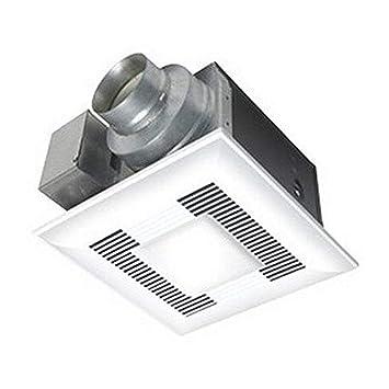panasonic fv 08vql6 ventilation fan light combination 80 cfm built rh amazon com