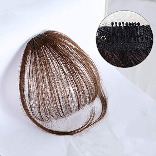 前髪ウィッグ 総手植え 人毛100% つけ毛 可愛い 空気感 ぱっつん 超軽薄 自然耐熱 小顔 ふんわり 夏用可 おしゃれ レディース サイドあり/なし