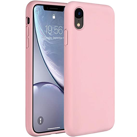 the latest 5e9e4 a8341 Miracase Liquid Silicone Case Compatible with iPhone XR 6.1 inch (2018),  Gel Rubber Full Body Protection Shockproof Cover Case Drop Protection Case  ...