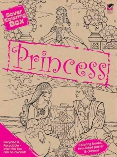 Dover Princess Coloring Box Kit (Dover Fun Kits) (Fun Kits Dover)