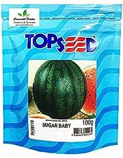 Sementes de Melancia Sugar Baby Pcte C/ 100 Gramas
