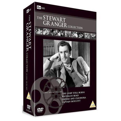 The Stewart Granger Collection (Adam and Evelyne / Blanche Fury / Caesar and Cleopatra / Captain Boycott / Fanny by Gaslight / the Lamp Still Burns / Love Story) [Region ()