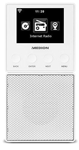 MEDION E85032 WLAN Internet Küchen Steckdosenradio (abnehmbarem ...