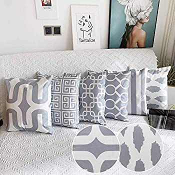 Amazon Com Onice Set Of 6 Home Cushion Cotton Linen New