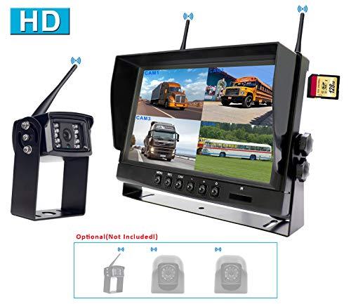CAMONS Digital Wireless Backup Camera for RV, 9