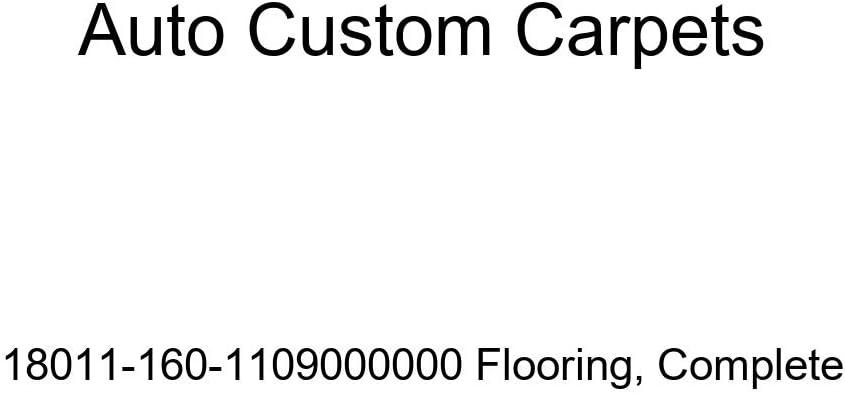 Auto Custom Carpets 18011-160-1109000000 Flooring Complete