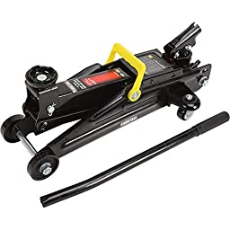 Ironton Hydraulic Service Jack with 360deg Handle - 2-Ton Capacity, 5 1/8in.-...