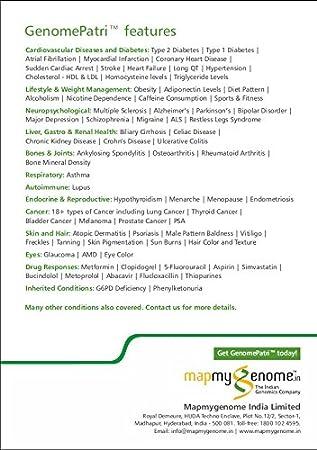 Mapmygenome Genomepatri on