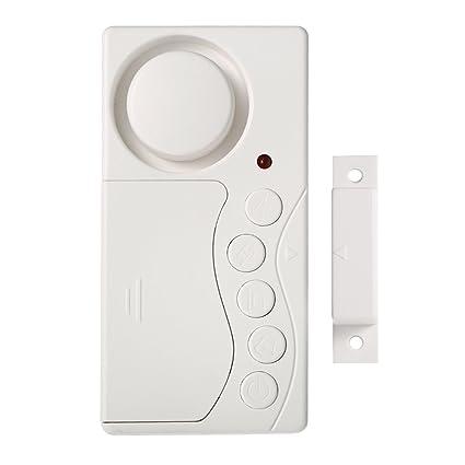 OWSOO Sensor de Movimiento Inalámbrica Magnética Alarma para Puerta Ventana Sistema de Seguridad