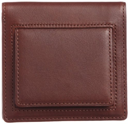 THINly Leather Bifold Wallet with Change Pocket SLBS03 Chocolate by THINly