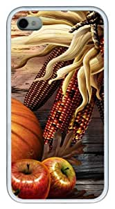iphone 4 case case mate Thanksgiving Day 4 TPU White for Apple iPhone 4/4S by lolosakes