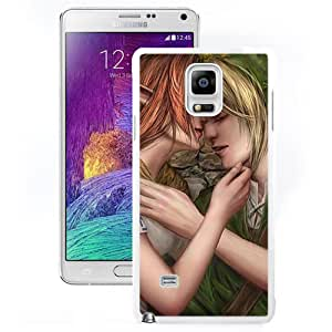 Beautiful And Unique Designed With Love Kiss Elfs (2) For Samsung Galaxy Note 4 N910A N910T N910P N910V N910R4 Phone Case