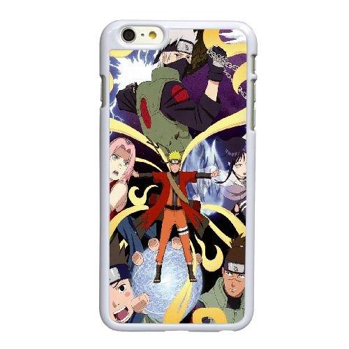 O6M88 Naruto Shippuden S6X1JZ coque iPhone 6 4.7 pouces Cas de couverture de téléphone portable coque blanche KT6OPU5QJ