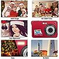 HD Mini Digital Video Camera,Point and Shoot Digital Video Camcorder Cameras-Birthday by Suntak