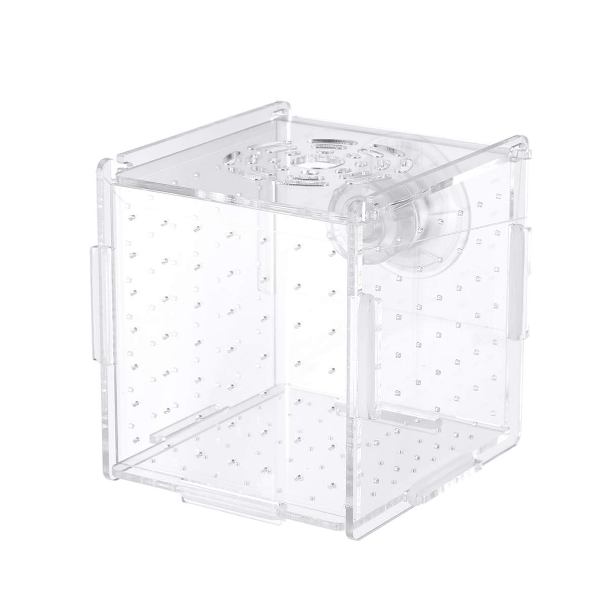 POPETPOP Fish Tank Breeding Isolation Box Aquarium Incubator Hatching Boxes Parenting Box Multifunctional Acrylic Fish…