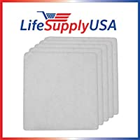 5 Pack LifeSupplyUSA Aftermarket Replacement Pre-Filter Pads designed to fit IQ Air Iqair PF40