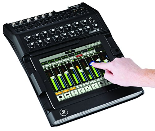 Sound Digital Mixer Live - Mackie 2044387-00 DL1608 16-Channel Live Sound Digital Mixer with iPad Control