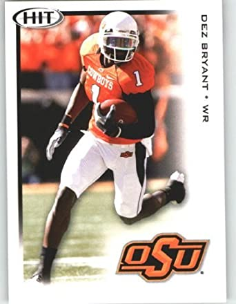 Dez Bryant Wr Oklahoma State Rc Rookie Card First Ever