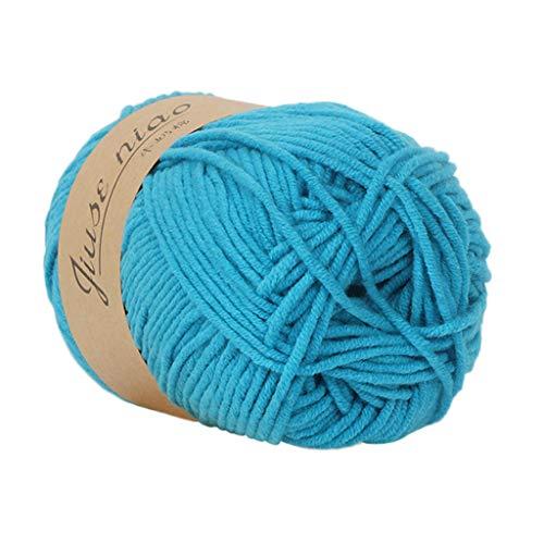 KFSO 50g Colorful Cashmere Wool Yarn Chunky Multicolor Hand Knitting Soft Warm Natural Crochet Baby Cotton Knitwear Yarn Clearance On Sale (J1)