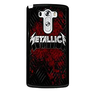 LG G3 Phone Cover Shell, Unique Design Heavy Metal Band Metallic Phone Case Cover for LG G3