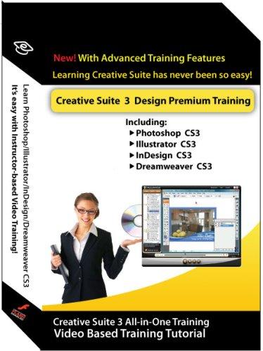 Adobe Creative suite 3 Design Premium Training Courses (Photoshop, Illustrator, InDesign & Dreamweaver) by Amazing eLearning, LLC.