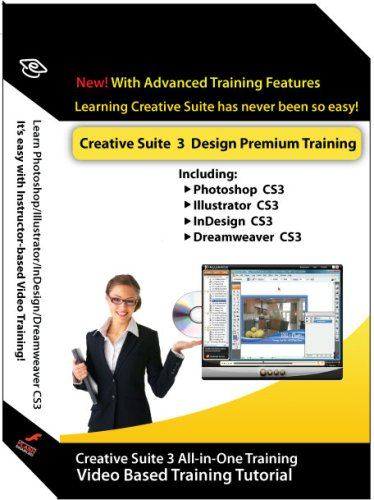 Adobe Creative suite 3 Design Premium Training Courses (Photoshop, Illustrator, InDesign & Dreamweaver) (Indesign Training)