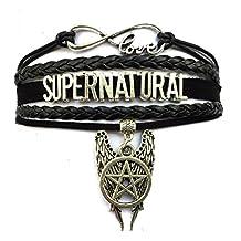 DOLON Infinity Love Supernatural Sam Winchester Bracelet Jewelry