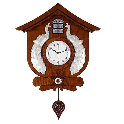 AYYA Modern creative quartz wooden watch large shell decorative mute modern creative quartz by AYYA