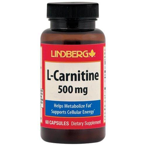 Lindberg L-Carnitine 500 mg 60 Capsules