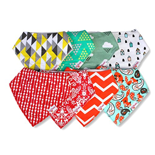 Great Baby Bibs With Fun Patterns For Boys or Girls!
