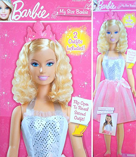 My Size Barbie - 3 feet 2 inches Tall - Bonus: 2 Outfits My Size Barbie Clothes