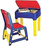 Nilkamal Apple Junior's Study Table Set - Red And Blue
