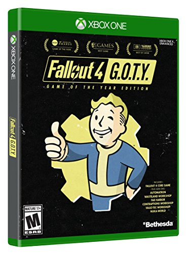 Amazon com: Fallout 4 Game of The Year Edition - Xbox One [video