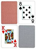 Copag Poker Size Jumbo Index Playing Cards (Blue Red Export Setup)