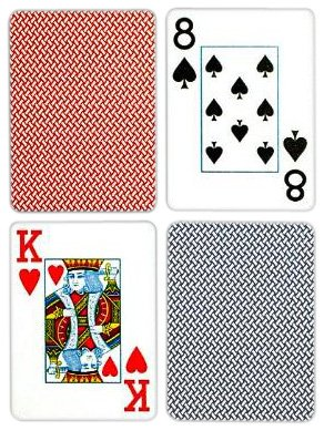 Copag Poker Size Jumbo Index Playing Cards (Blue Red Export Setup) by Copag