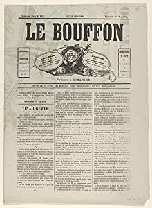 After Gustave Courbet – Le Bouffon - Le Salon de 1868 Artistica di Stampa (45,72 x 60,96 cm)