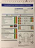Honda Multi Point Vehicle Inspection Checklist 250 Qty. - #7298 (R72)