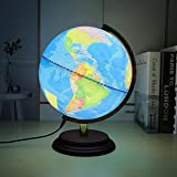 MonkeyJack Blue Geography World Globe with Scale Stand Home/ School/ Office Desk Toy
