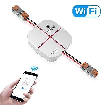 eMylo Smart WiFi Switch Wireless Remote Control Light Switch Tuya