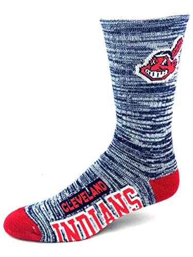 - For Bare Feet Cleveland Indians 504 Deuce RMC Crew Socks - Size Large