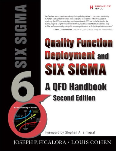 Quality Function Deployment and Six Sigma, Second Edition (paperback): A QFD Handbook (2nd Edition) (QFD Handbooks)