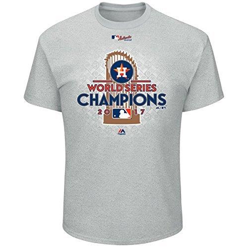Mlb Victory Series - Houston Astros 2017 World Series Champions Men's Locker Room T-shirt XX-Large