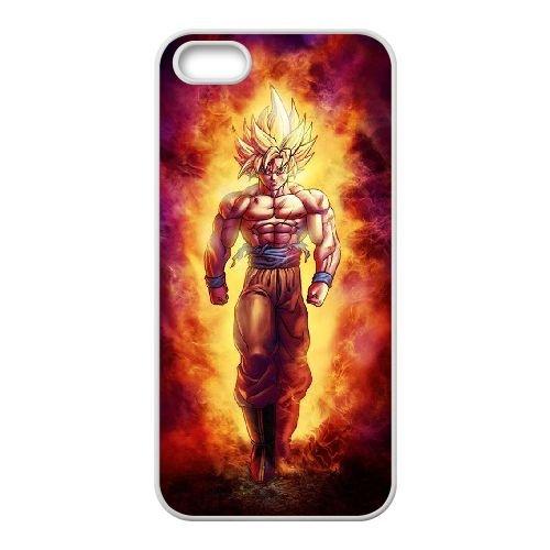 E4Y56 Dragon Ball N6B8KV coque iPhone 4 4s cellule de cas de téléphone couvercle coque blanche WY2JQA7ZG