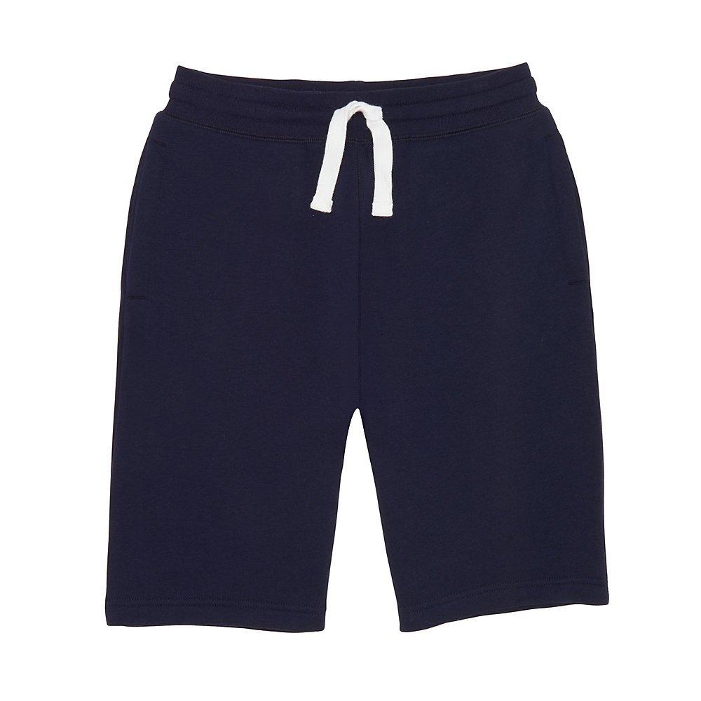 French Toast Boys' Big Fleece Gym Short, Navy, L (10/12)
