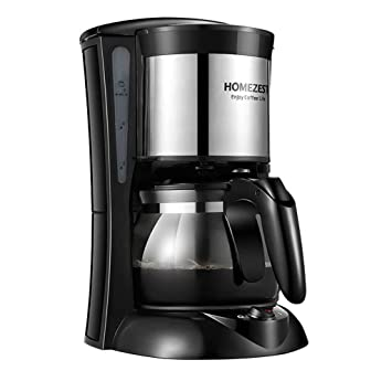Pequeña máquina de café inteligente portátil de aislamiento automático por goteo American Coffee (Color : NEGRO): Amazon.es: Hogar