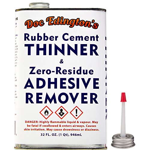 doc-edingtons-rubber-cement-adhesive-remover-thinner-32oz-amazing-zero-residue-non-staining-low-odor