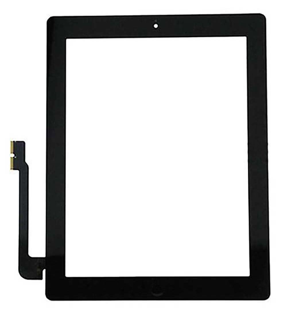 10 Pack - Touch Screen Digitizer for Apple iPad 3 - Black - Includes Small Parts