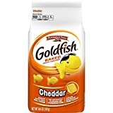 Farm Goldfish Cheddar Crackers Baked with Real Cheese, 6.6 oz. Bag Pack of 2