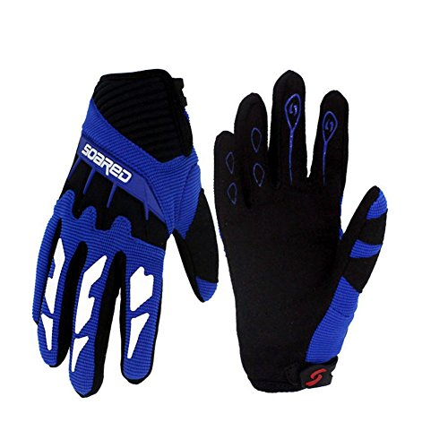 Gtopart 50g Kids Full Long Finger Cycling Gloves,Skateboard Gloves, Roller Skating Gloves