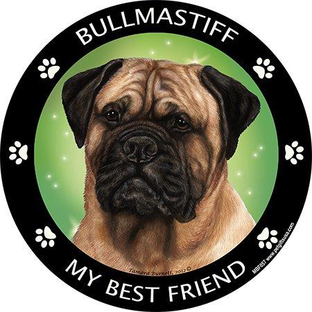 My Best Friend Bull Mastiff Magnet
